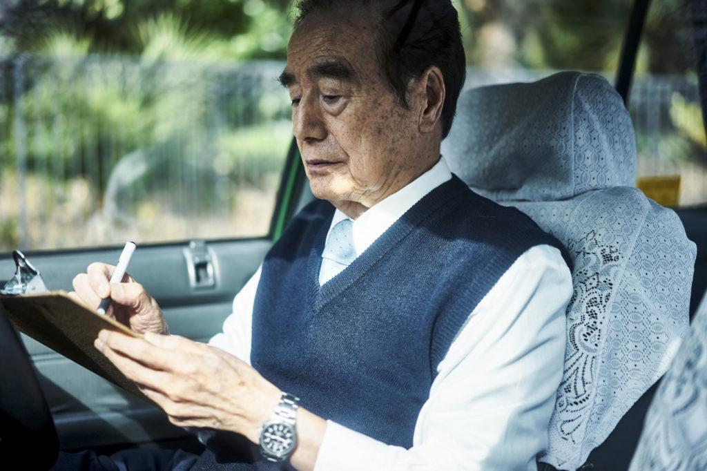 タクシー運転手の高齢化